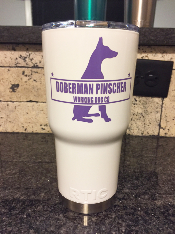 Doberman Working Dog Mug