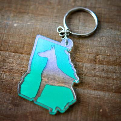 GDR logo keychain