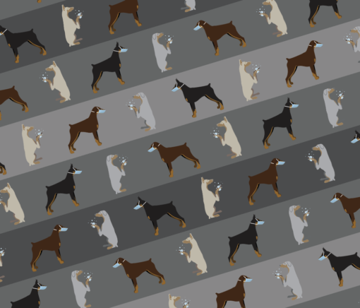 Dobermandemic pattern